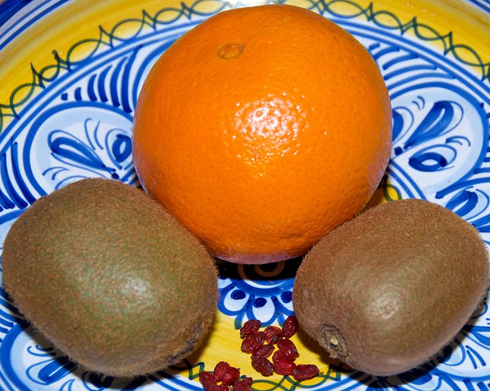 Vitaminreiche Ernährung mit Obst